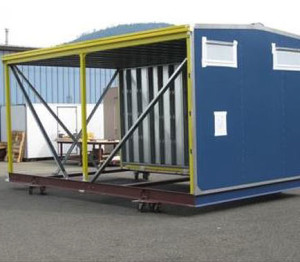 Custom CEMS Shelter