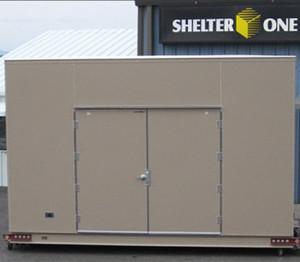 Custom Generator Shelter