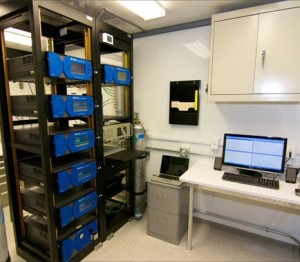 Interior Integration of Instrument Racks and Cabinets