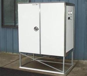 Custom Analyzer Equipment Cabinet