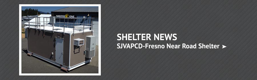 SJVAPCD-Fresno Near Road Shelter