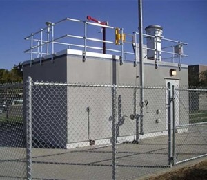 10′ X 20′ Air Monitoring Shelter with Exterior Stucco Finish (optional)