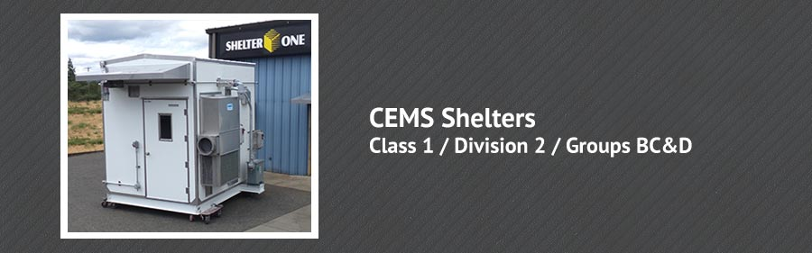 CEMS Shelter Class 1 / Division 2 / Groups BC&D