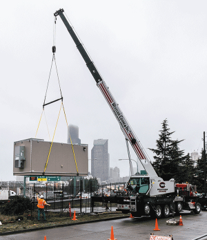 Setting Ambient Air Near Road Shelter in place in Seattle