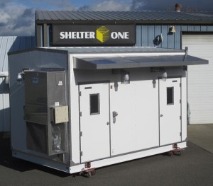 Custom CEMS Shelter from Shelter One