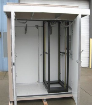 Cabinet Interior with Rack