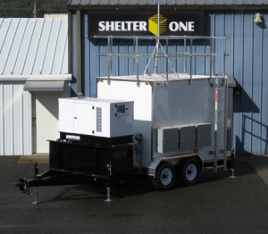 EPA Mobile Monitoring System Shelter
