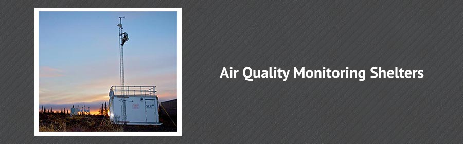 Air Quality Monitoring Shelters