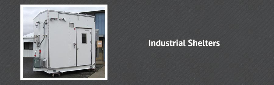 Shelters & Enclosures for Industrial Applications
